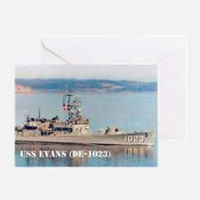 evans small poster Greeting Card