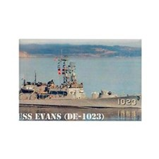 evans small poster Rectangle Magnet