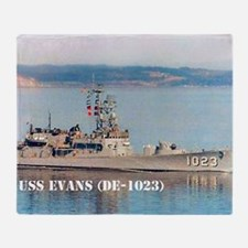 evans small poster Throw Blanket