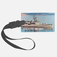 evans note cards Luggage Tag