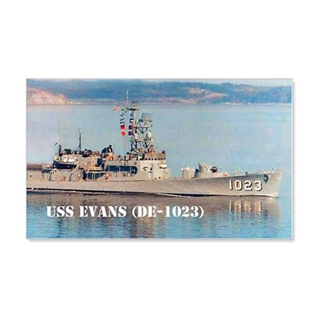 evans note cards 20x12 Wall Decal