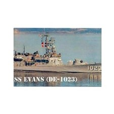 evans note cards Rectangle Magnet