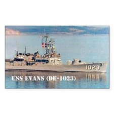 evans note cards Decal