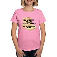 National Guard Aunt Nephew Desert Combat Boots T-S