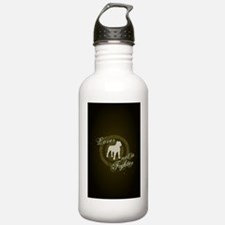 2-loverfighterdarkbg-j Water Bottle