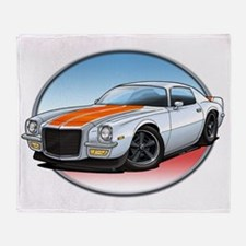 White_72_Camaro Throw Blanket