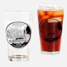 state-quarter-arizona Drinking Glass