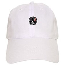 Survivor Strong Button Baseball Hat