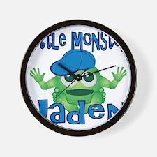 2-jaden-b-monster Wall Clock