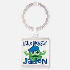 2-jaden-b-monster Square Keychain