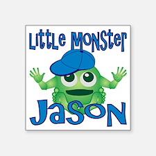 "2-jason-b-monster Square Sticker 3"" x 3"""