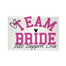 team-bride-support-crew Rectangle Magnet