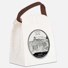 state-quarter-iowa Canvas Lunch Bag