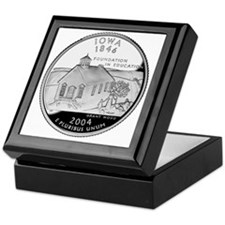 state-quarter-iowa Keepsake Box