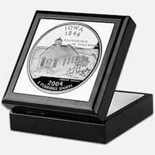 state-quarter-iowa Keepsake Box