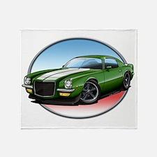 Green_72_Camaro Throw Blanket