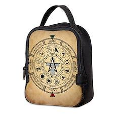Wheel of the Year Zodiac Sabbats Neoprene Lunch Ba