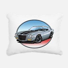 Silver_72_Camaro Rectangular Canvas Pillow