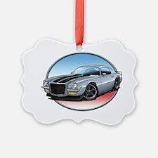 Silver_72_Camaro Ornament