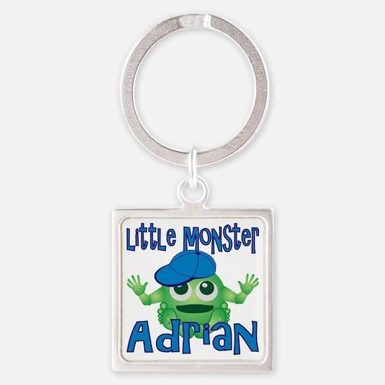 2-adrian-b-monster Square Keychain