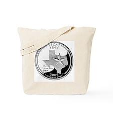 coin-quarter-texas Tote Bag