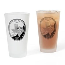 coin-quarter-texas Drinking Glass