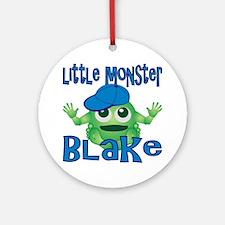 2-blake-b-monster Round Ornament