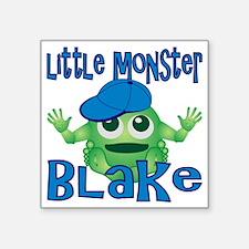 "2-blake-b-monster Square Sticker 3"" x 3"""