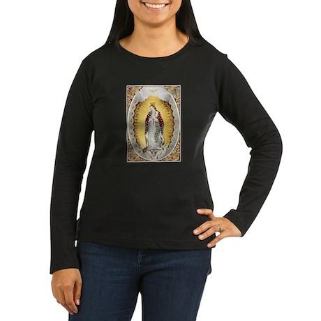 Vintage Guadalupe Women's Long Sleeve Dark T-Shirt