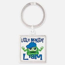 liam-b-monster Square Keychain