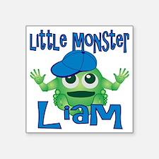 "liam-b-monster Square Sticker 3"" x 3"""
