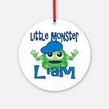 liam-b-monster Round Ornament