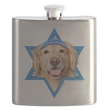 Hanukkah Star of David - Golden Flask