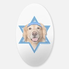 Hanukkah Star of David - Golden Decal