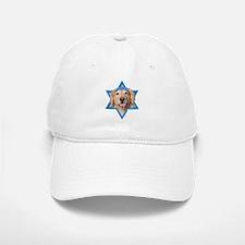 Hanukkah Star of David - Golden Baseball Baseball Cap