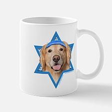 Hanukkah Star of David - Golden Mug