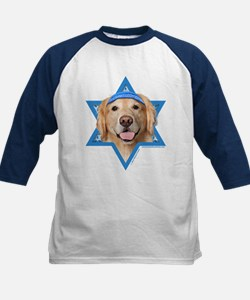 Hanukkah Star of David - Golden Tee