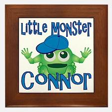 2-connor-b-monster Framed Tile