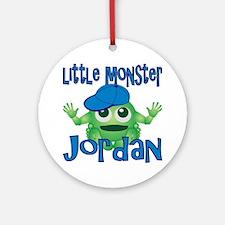2-jordan-b-monster Round Ornament