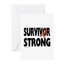Survivor Strong Greeting Cards