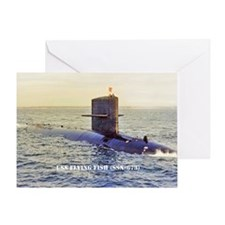ffish mini poster Greeting Card