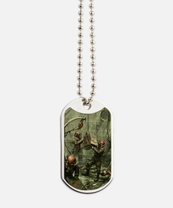 SALVAGE DIVERS Dog Tags