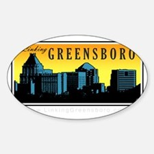 LinkingGreensboro_SceneMark02-darkb Decal