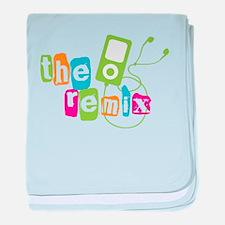 The Remix baby blanket