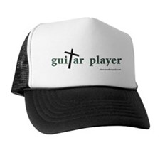 Guitar Player Cross 1 Trucker Hat