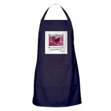 Sing in the Lifeboats Apron (dark)