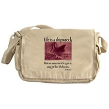 Sing in the Lifeboats Messenger Bag