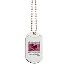 Sing in the Lifeboats Dog Tags