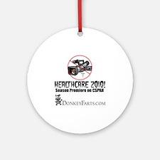 Healthcare-2010 Round Ornament