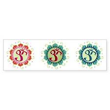 Lotus Aum - Bumper Bumper Sticker